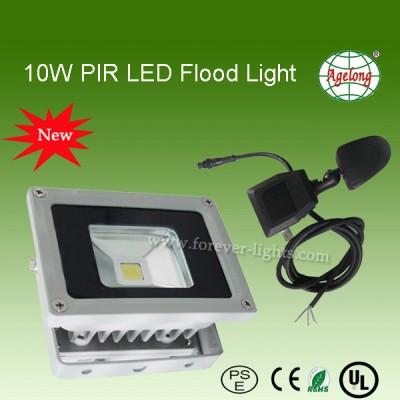 10W PIR LED泛光灯/LED投光灯