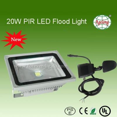 20W PIR LED泛光灯/LED投光灯