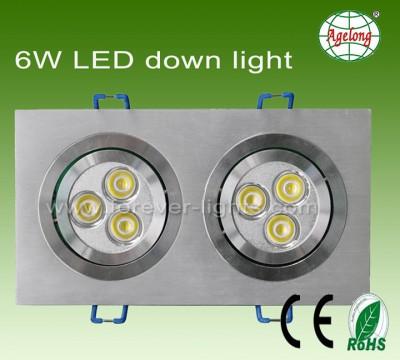 6W LED 筒灯