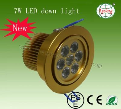 7W LED 筒灯