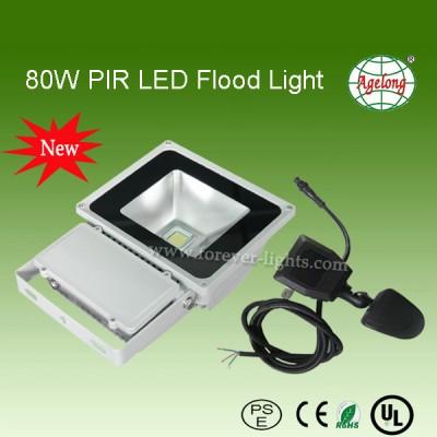 80W PIR LED泛光灯/LED投光灯