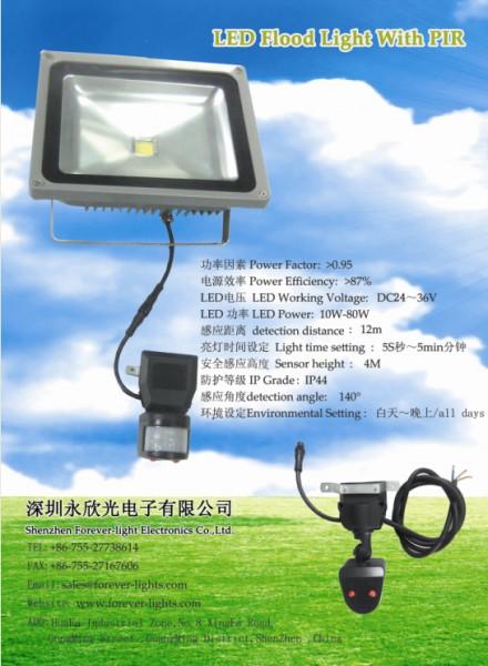 新产品-LED感应泛光灯