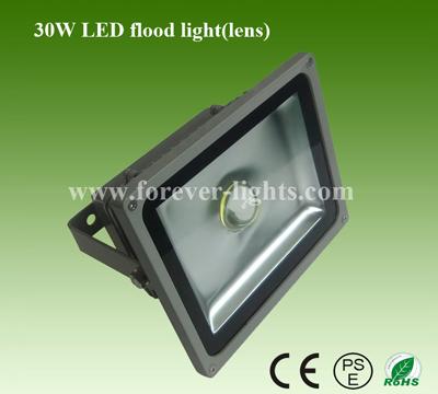 30W LED泛光灯/LED投光灯(30°)透镜