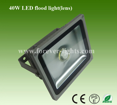 40W LED泛光灯/LED投光灯(30°)透镜