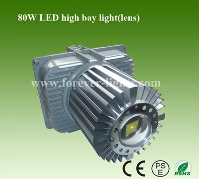 80W LED工矿灯(30°透镜)