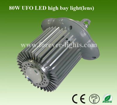 80W UFO LED工矿灯(30°)透镜