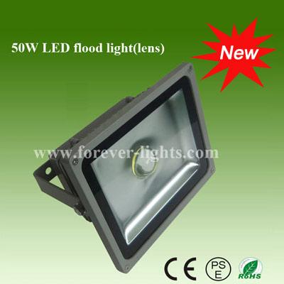 50W LED泛光灯/LED投光灯(30°)透镜