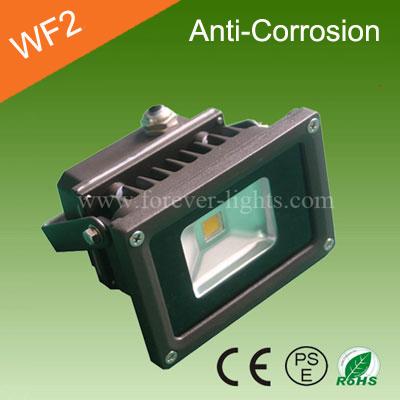 10W 防腐蚀(防海水) LED泛光灯/LED投光灯