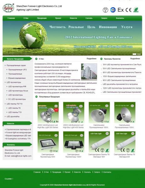 祝贺我司俄语网站正式上线