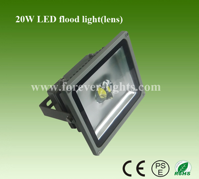 20W LED泛光灯/LED投光灯(60°/120°)透镜
