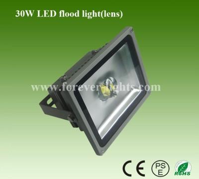 30W LED泛光灯/LED投光灯(60°/120°)透镜