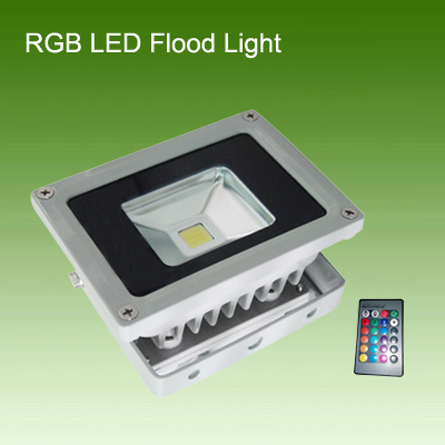 10W RGB LED泛光灯/投光灯