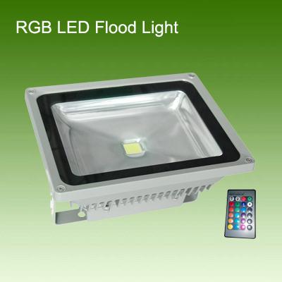 30W RGB LED泛光灯/投光灯