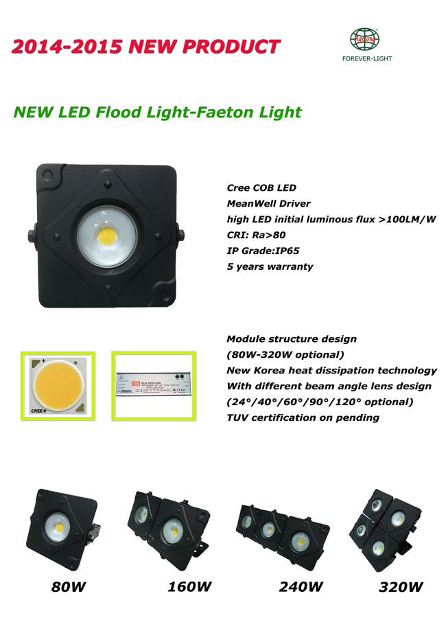 新产品-飞腾LED泛光灯正式上市