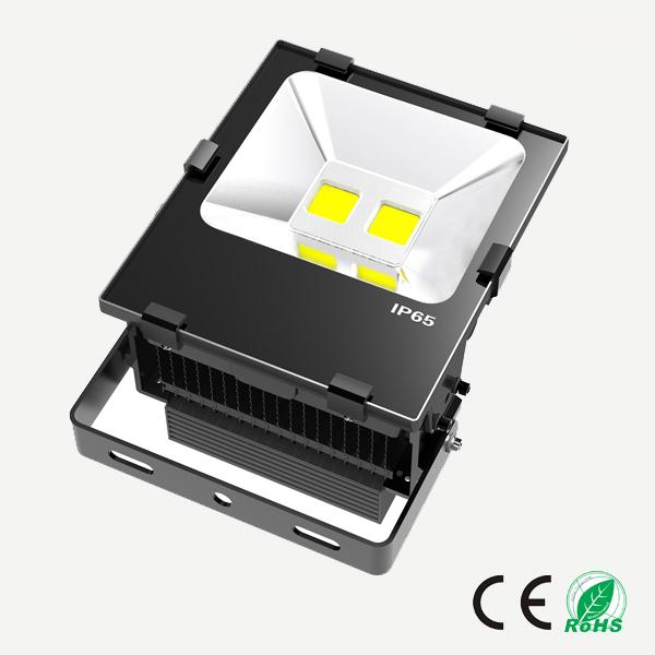 100W  LED泛光灯 鳍片式