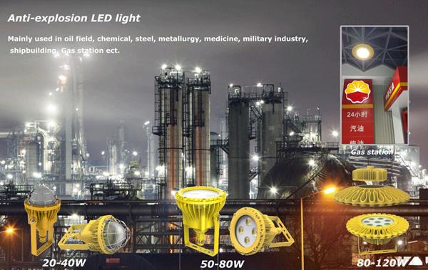 20W-120W隔爆型LED防爆灯全面上市