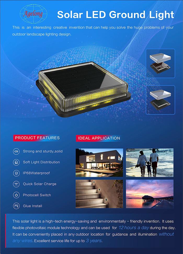 新品-薄膜太阳能LED小地灯